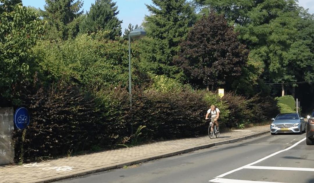Mobilité douce: à vélo à Lasne